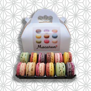 12er Macarons mit Verpackung